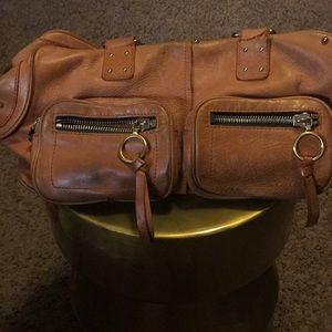 💙Vintage CHLOÉ Leather  Handbag